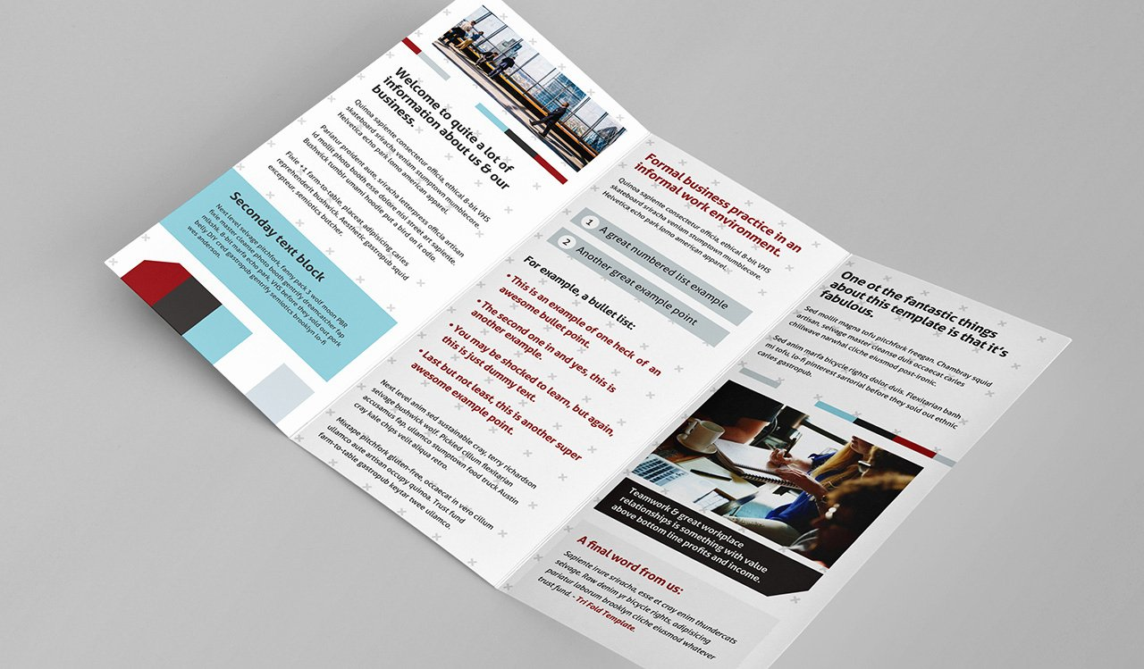 11x17 Tri Fold Brochure Template Best Of Free Trifold Brochure Template for Shop & Illustrator