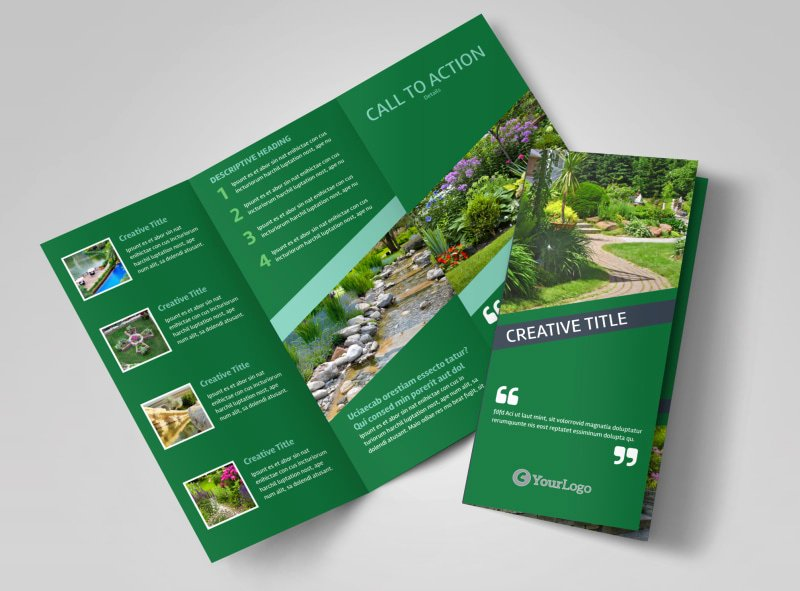 11x17 Tri Fold Brochure Template Inspirational Big Landscape Brochure Template