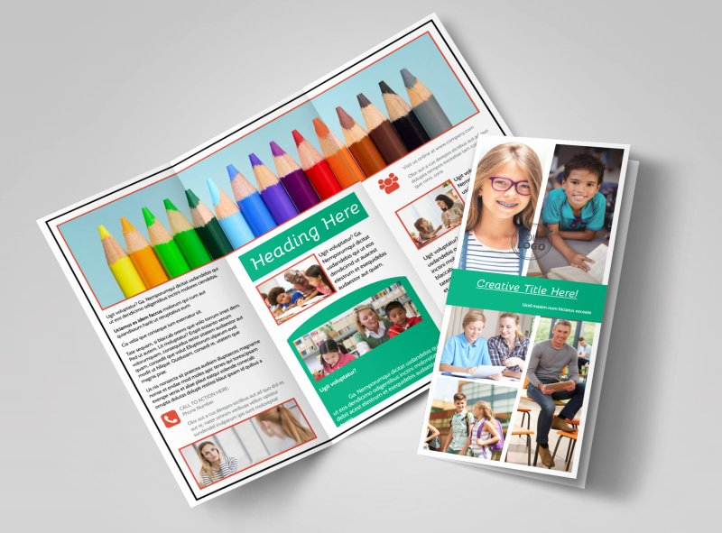 11x17 Trifold Brochure Template Awesome School Counseling Brochure Template