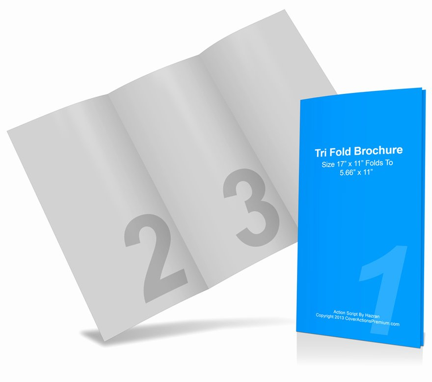 11x17 Trifold Brochure Template Best Of 11 X 17 Tri Fold Brochure Mockup
