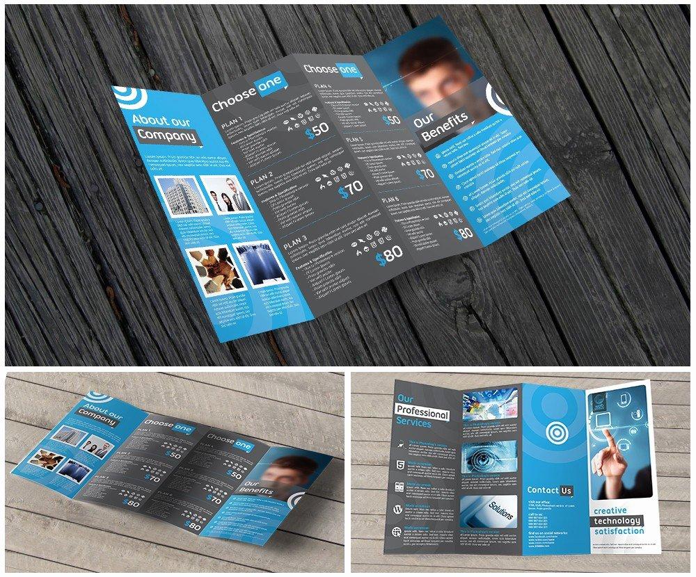 11x17 Trifold Brochure Template Fresh 11x17 Quad Fold Brochure Printing