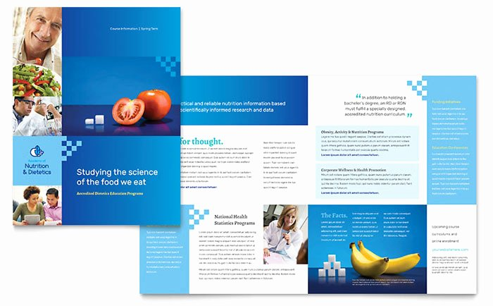 11x17 Trifold Brochure Template Inspirational Dietitian Brochure Template Word & Publisher