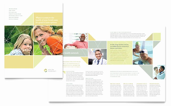 11x17 Trifold Brochure Template Inspirational Health Insurance Brochure Template Word & Publisher