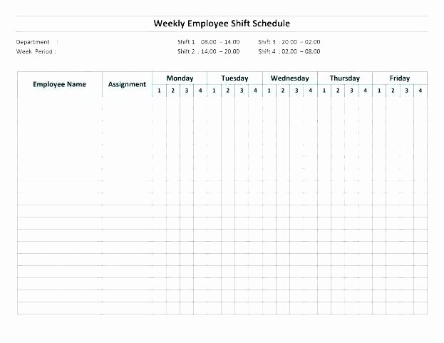 12 Hour Nursing Schedule Template Lovely Printable Hour Rotating Shift Schedule Template 12 Work