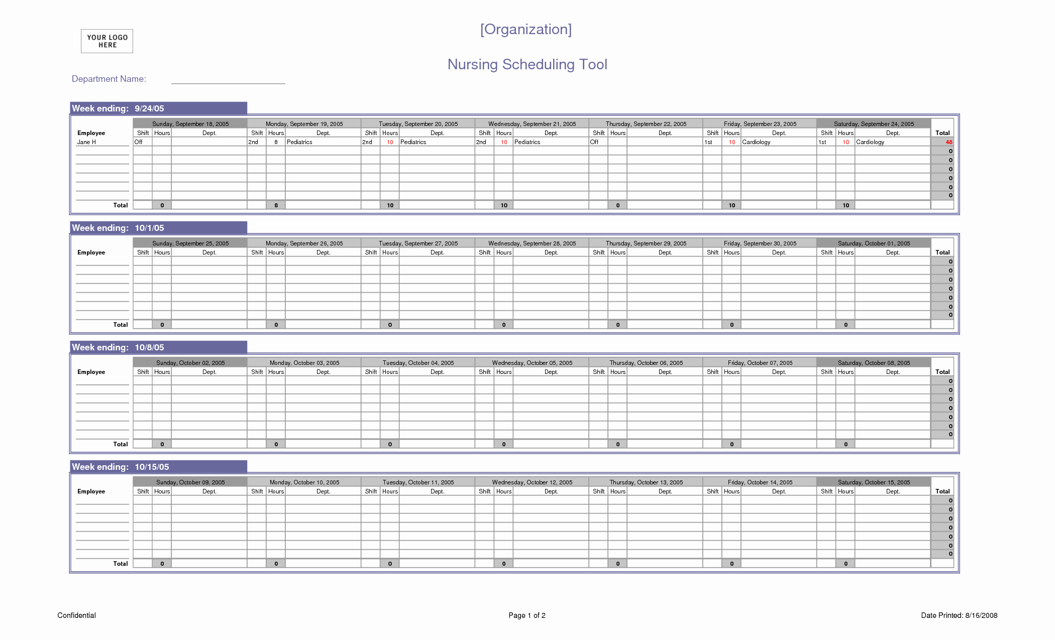 12 Hour Nursing Schedule Template Unique Nursing Schedule Template – Emmamcintyrephotography
