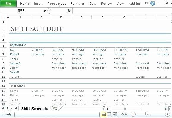 12 Hour Shift Schedule Template Beautiful 96 12 Hour Shift Schedule Template Excel 24 7 Shift