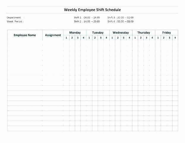 12 Hour Shift Schedule Template Elegant 7 Shift Schedule Template 12 Hour Work Schedules Templates