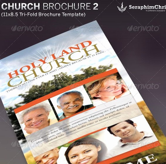 2 Fold Brochure Template Awesome 20 Nice Church Brochure Templates