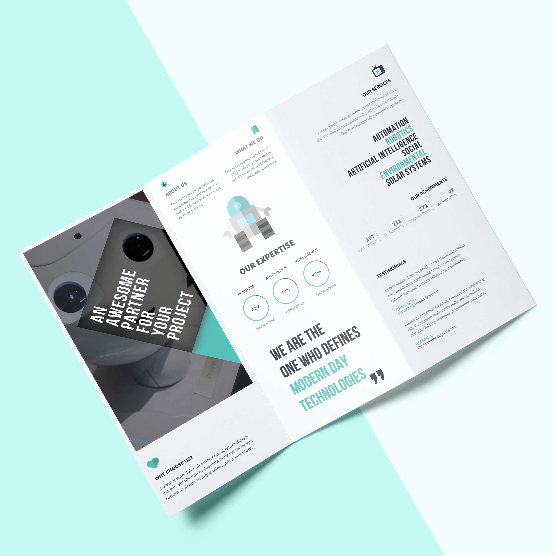 2 Fold Brochure Template Elegant 2 Fold Brochures