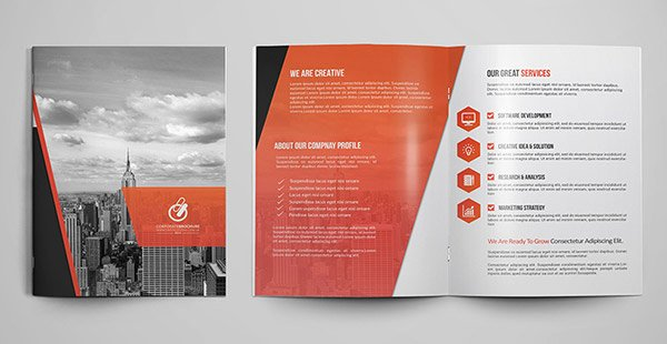 2 Fold Brochure Template Lovely 30 Really Beautiful Brochure Designs & Templates for