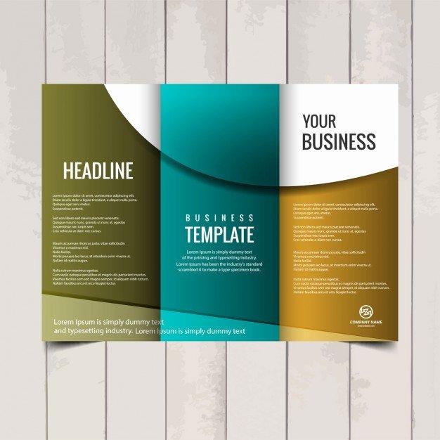 2 Fold Brochure Template Luxury Tri Fold Brochure Template Vector