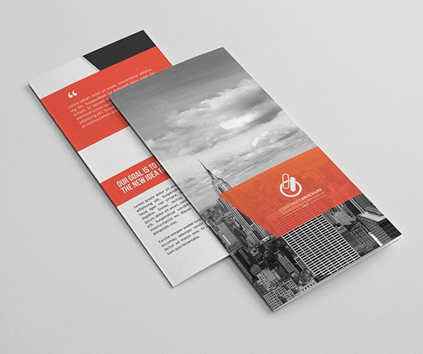 2 Fold Brochure Template New 30 Really Beautiful Brochure Designs & Templates for