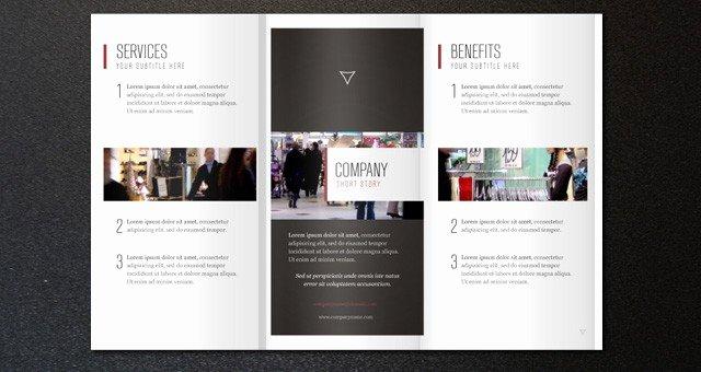 2 Fold Brochure Template Unique 2014 Free & Premium Brochure Templates