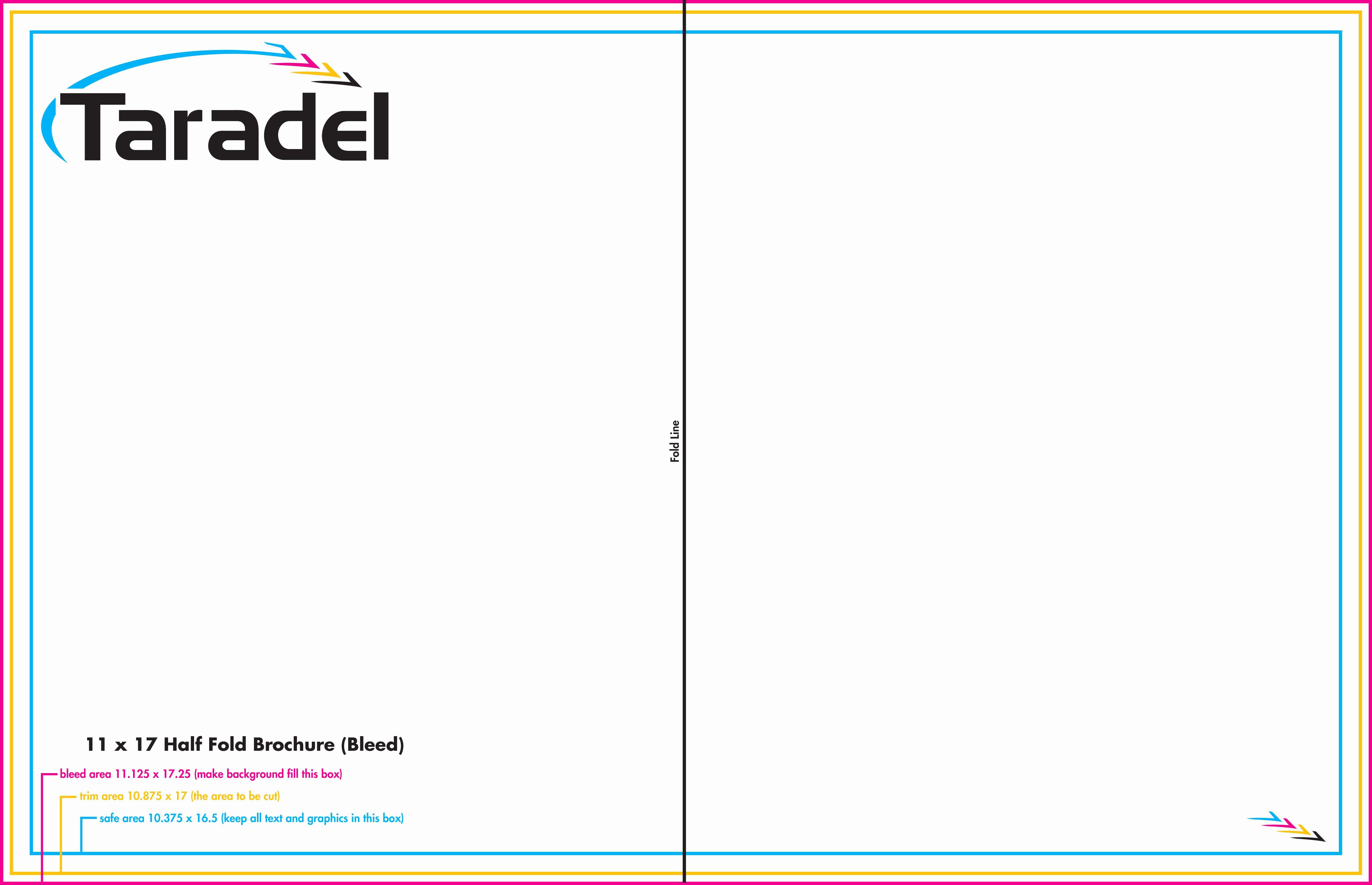 2 Fold Brochure Template Unique Half Fold Brochure Template – Emmamcintyrephotography