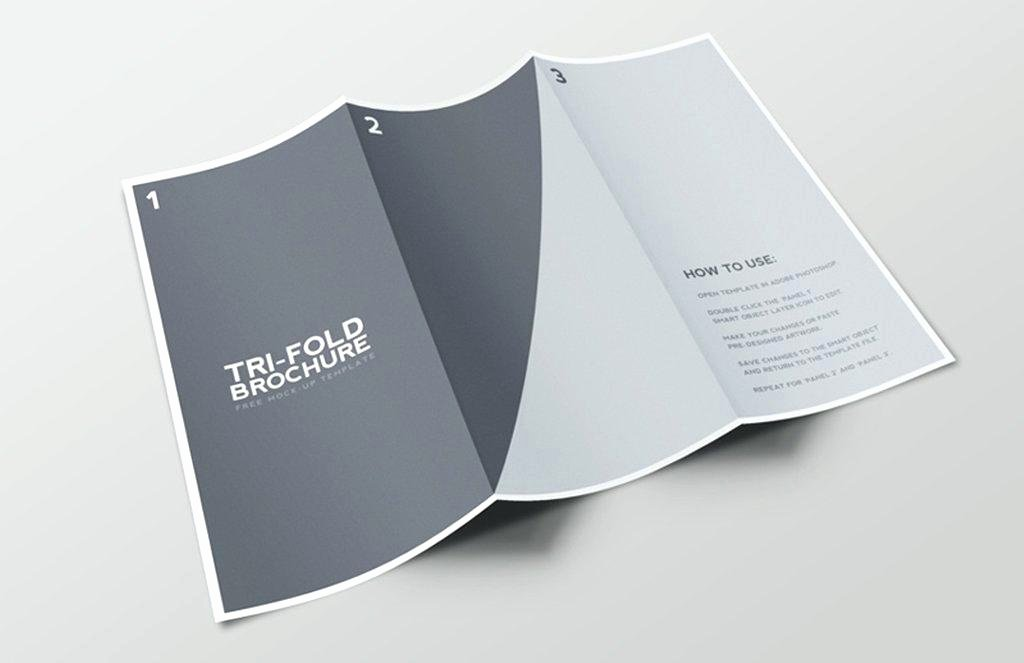 2 Folded Brochure Template Best Of 2 Sided Tri Fold Brochure Template – Crugnalebakery