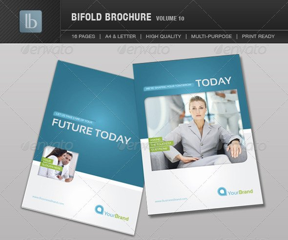 2 Folded Brochure Template Elegant Two Fold Brochure Template Free Csoforumfo