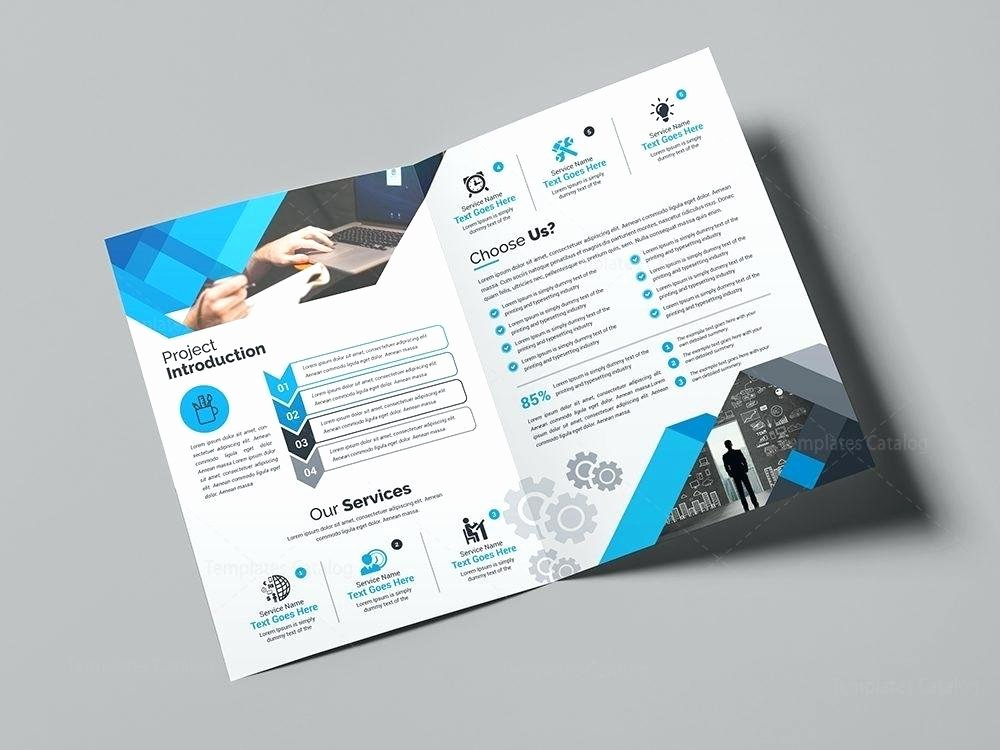 2 Folded Brochure Template Inspirational Brochure Templates Half Fold Template Psd