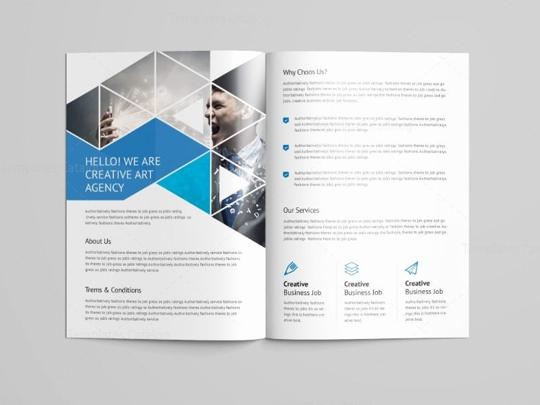 2 Folded Brochure Template Inspirational Two Fold Brochure Template Free Stunning Professional Bi