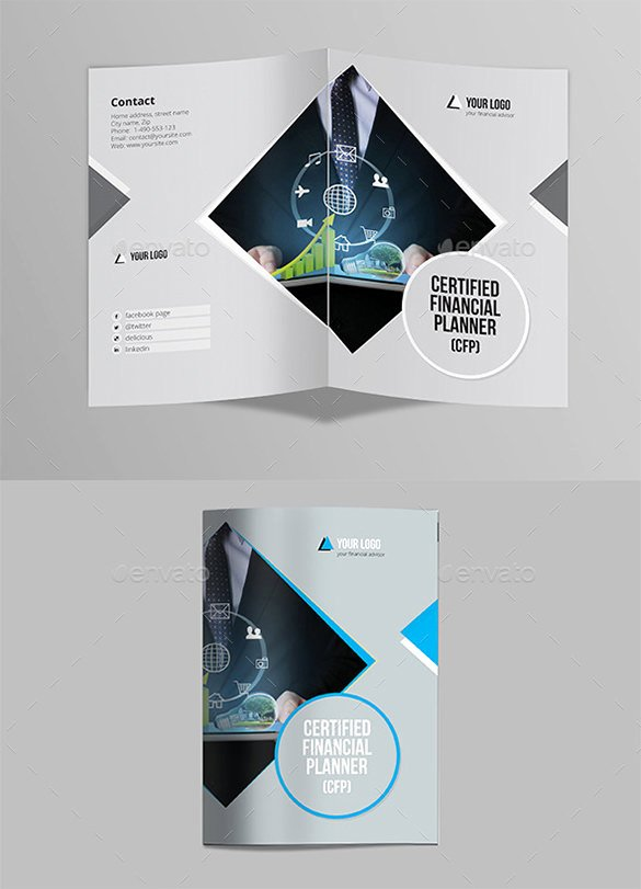 2 Folded Brochure Template Luxury Two Fold Brochure Template Psd Renanlopes