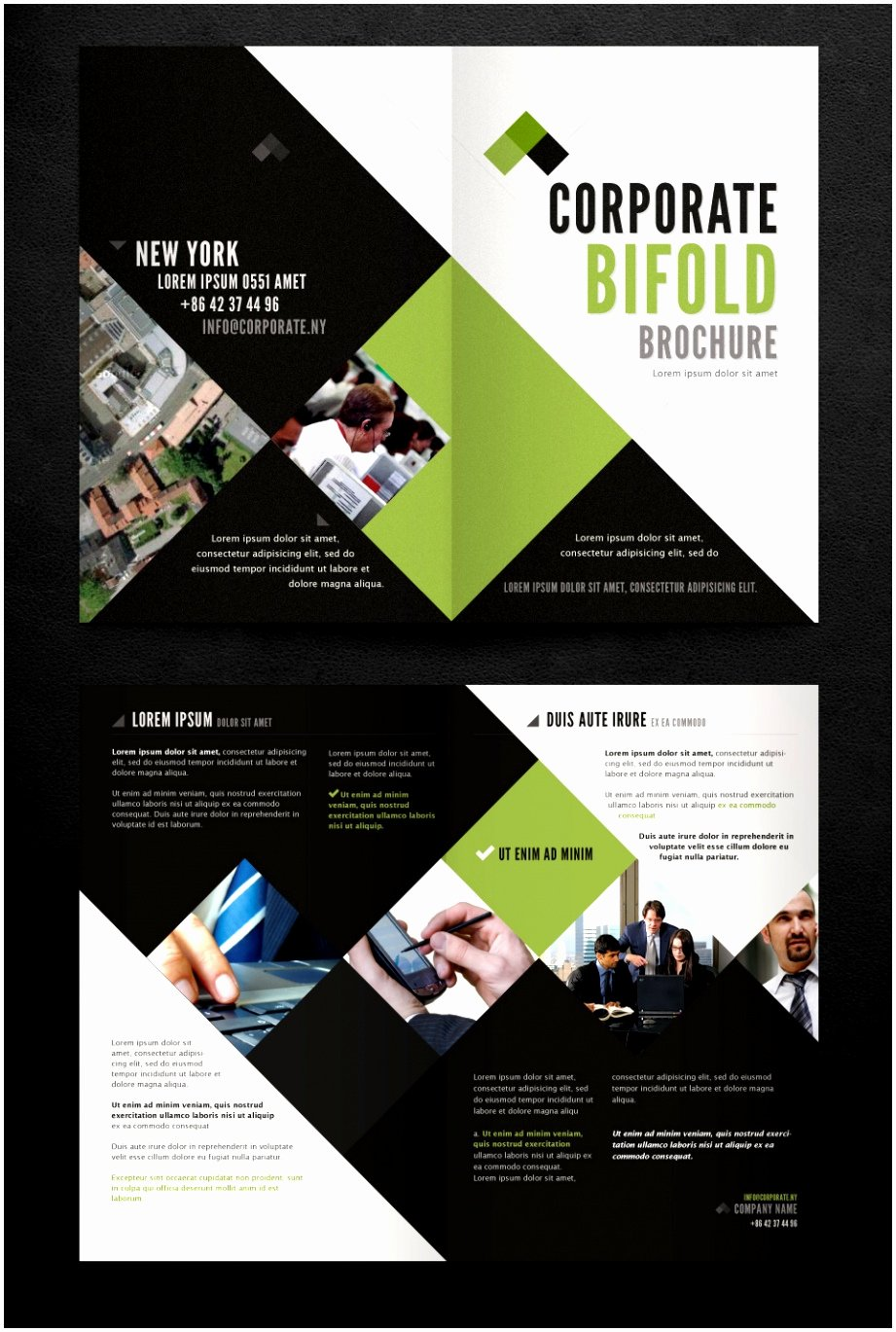 2 Folded Brochure Template Unique 7 Two Fold Brochure Templates Free Download Xwteu