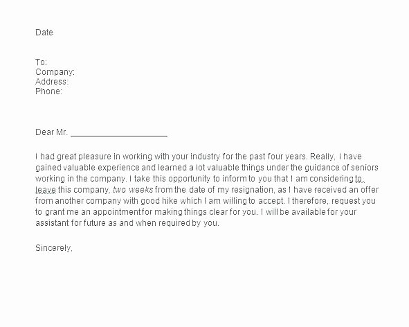 2 Weeks Notice Email Template Best Of Two Weeks Notice Email Template How to Send A Resignation