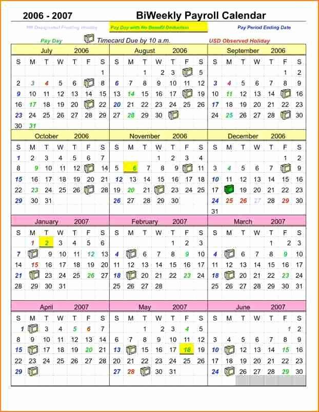 2017 Biweekly Payroll Calendar Template Elegant 12 Payroll Calendar Template 2017