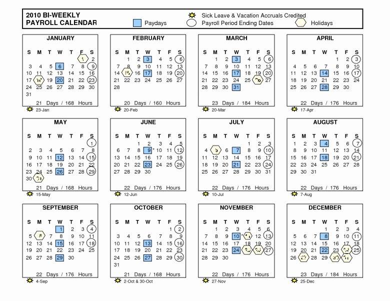 2017 Biweekly Payroll Calendar Template Elegant Payroll Calendar 2018 Template Kenindle fortzone