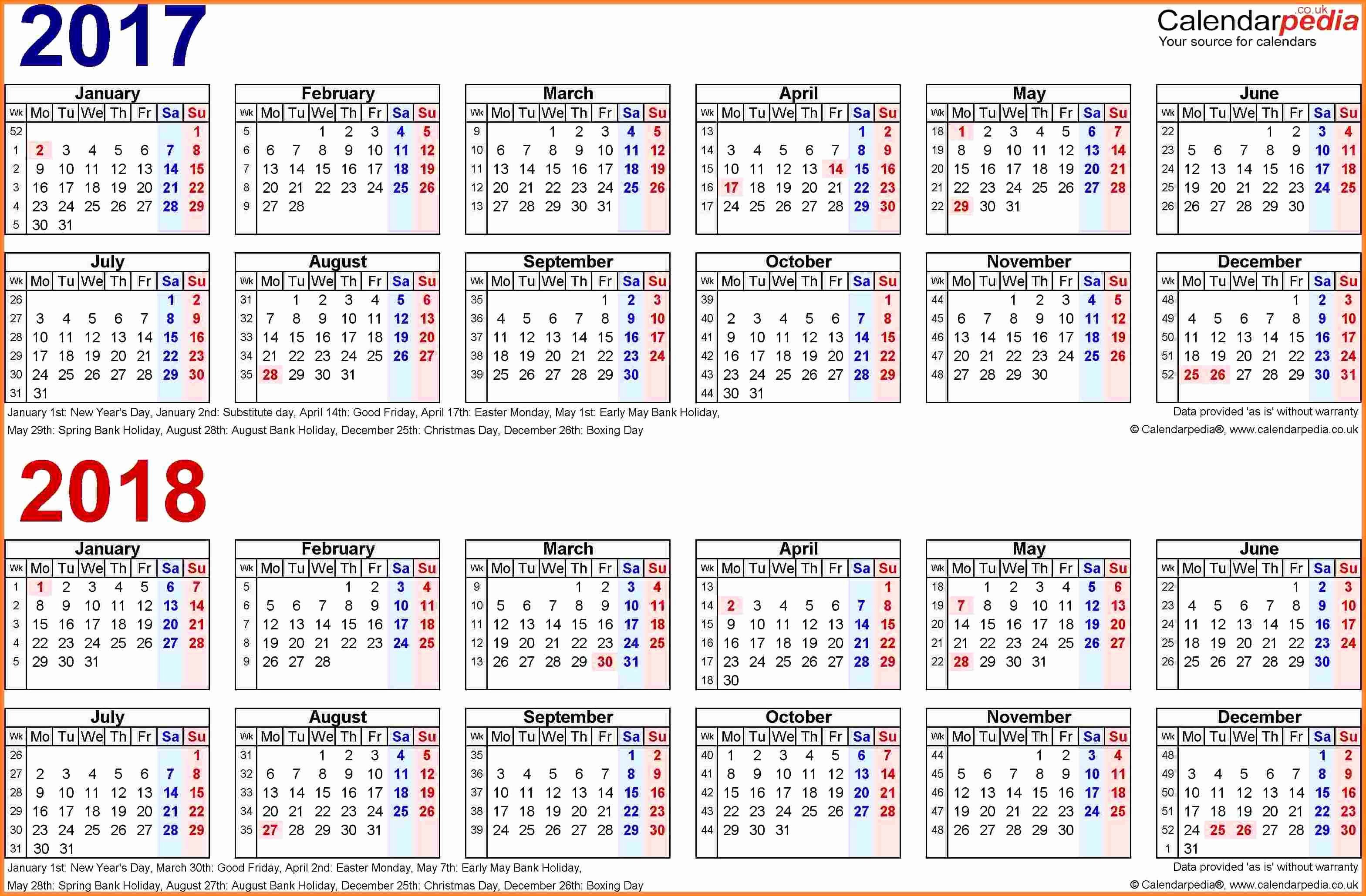 2017 Biweekly Payroll Calendar Template New 12 Payroll Calendar Template 2017