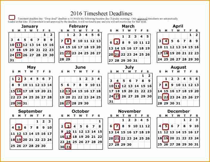 2017 Payroll Calendar Template Beautiful 12 Payroll Calendar Template 2017