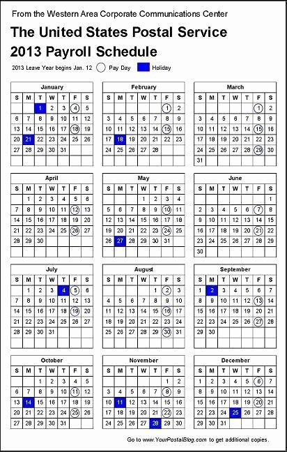 2017 Payroll Calendar Template Fresh Post Fice Pay Periods 2017 Usps Pay Period Calendar