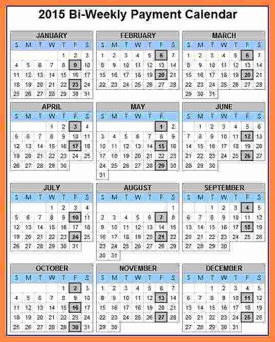 2017 Payroll Calendar Template Unique 2018 Calendar Biweekly Payroll Biweekly Payroll Calendar