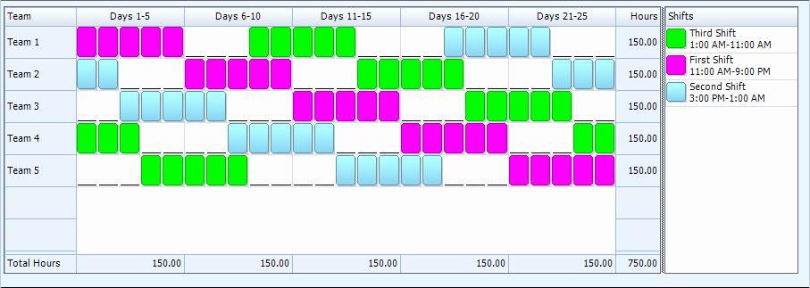 24 Hour Shift Schedule Template Elegant 24 7 Shift Schedule Template