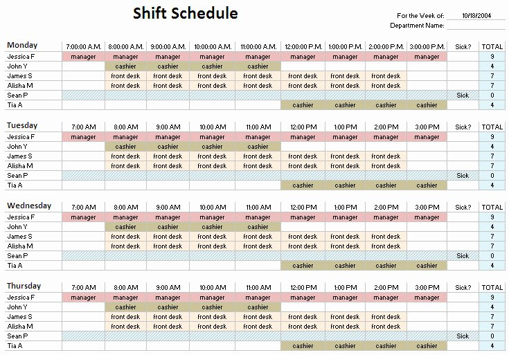 24 Hour Shift Schedule Template Elegant 24 Hour Shift Schedule Template