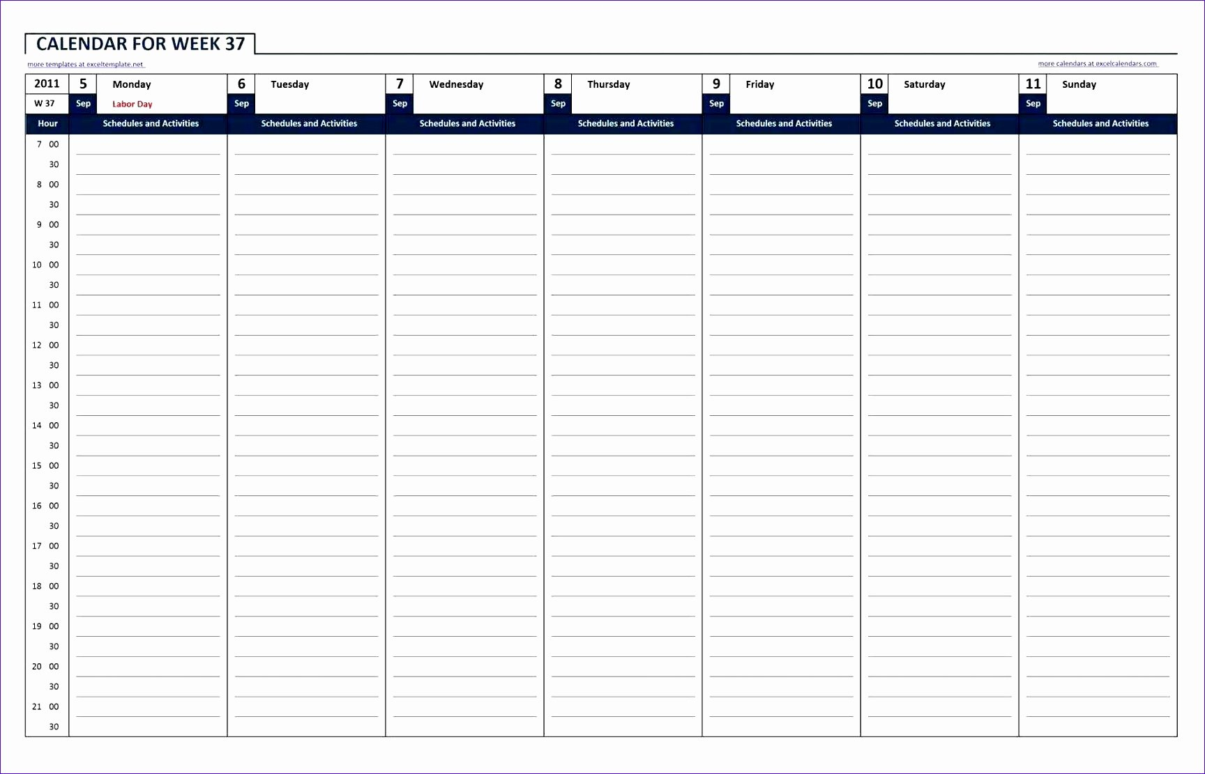 24 Hour Weekly Schedule Template Fresh 10 24 Hour Work Schedule Template Excel Exceltemplates