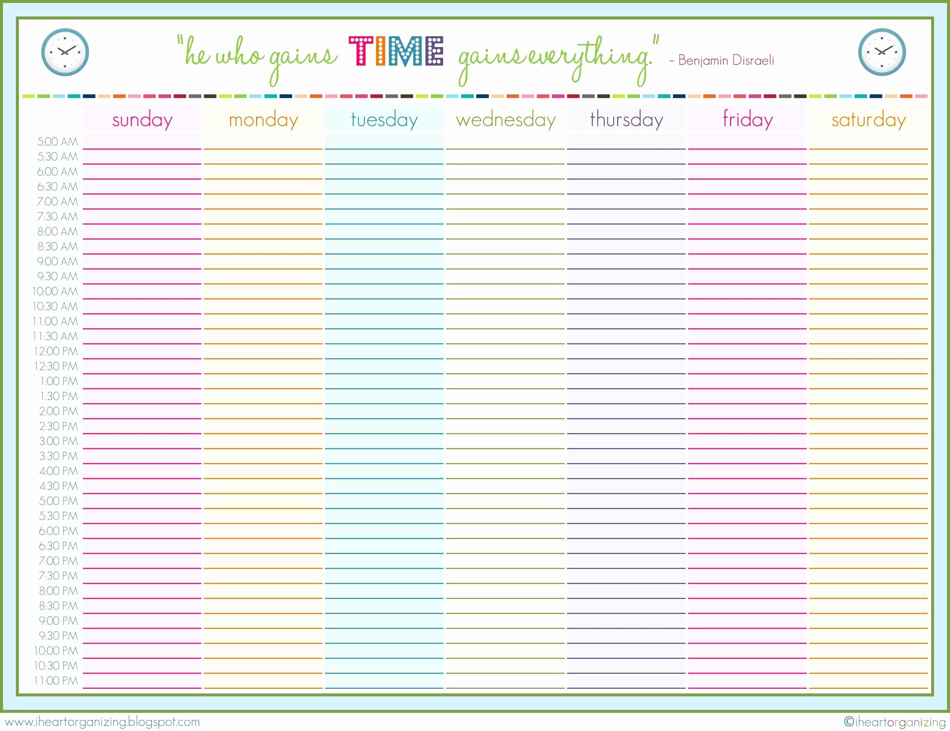 24 Hr Schedule Template Luxury 9 24 Hour Printable Schedule