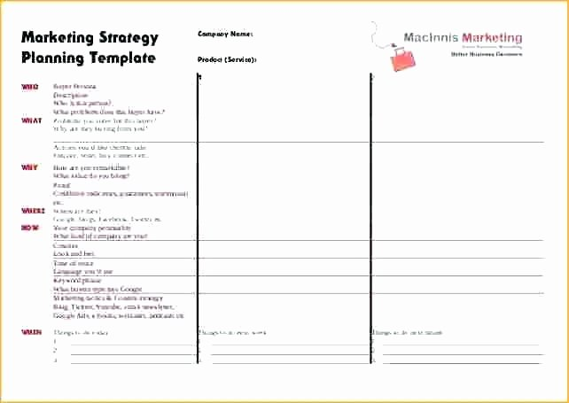 strategy plan planning template 1 page strategic example free templates it 3 year powerpoint
