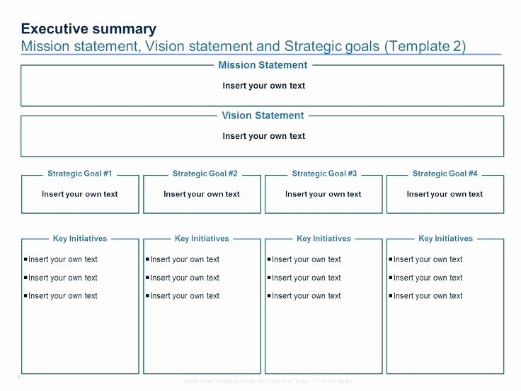 3 Year Strategy Plan Template New 3 5 Year Strategic Plan Template Business and E Page
