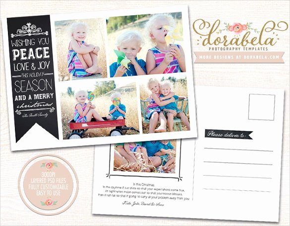 5 X 7 Postcard Template Awesome 18 5×7 Postcard Templates – Free Sample Example format