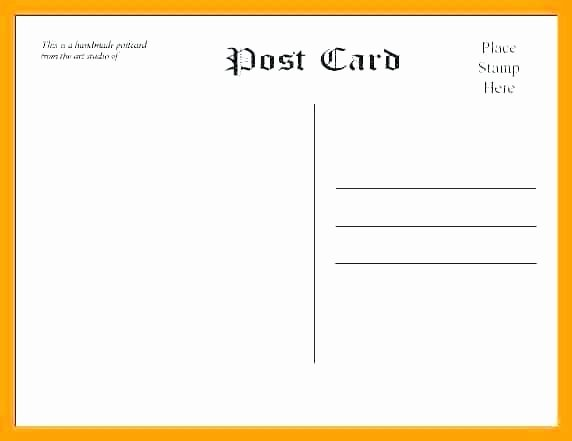 5 X 7 Postcard Template Inspirational 99 Free 5x7 Postcard Template 5x7 Postcard Template for