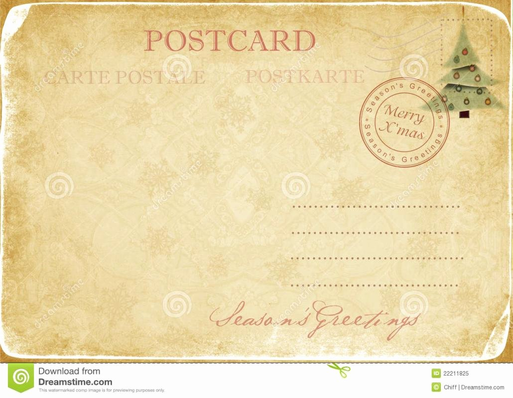 5 X 7 Postcard Template Lovely 5×7 Postcard Template