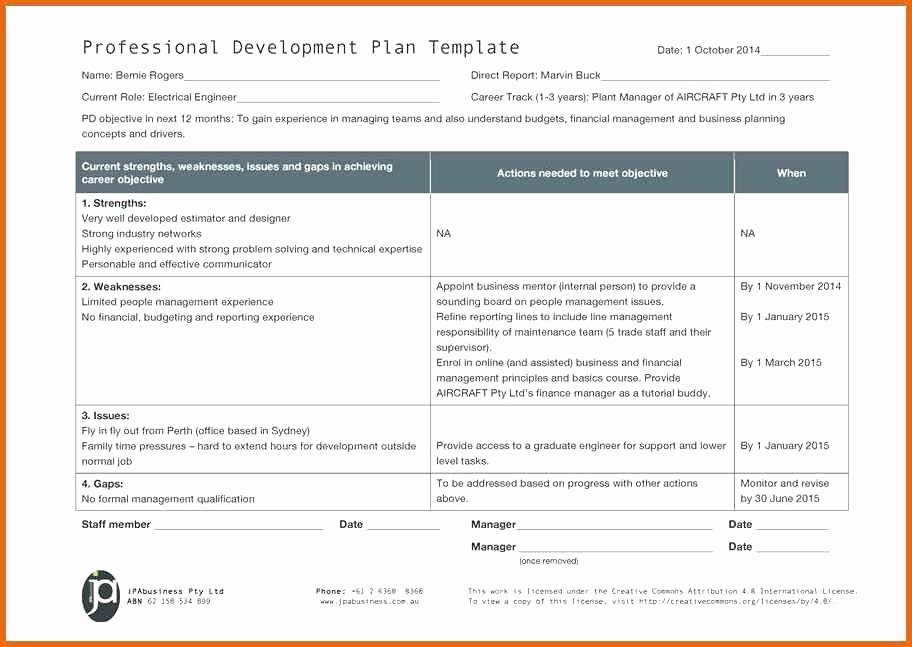 5 Year Budget Plan Template Awesome Development Plan Template Professional Example 5 Year