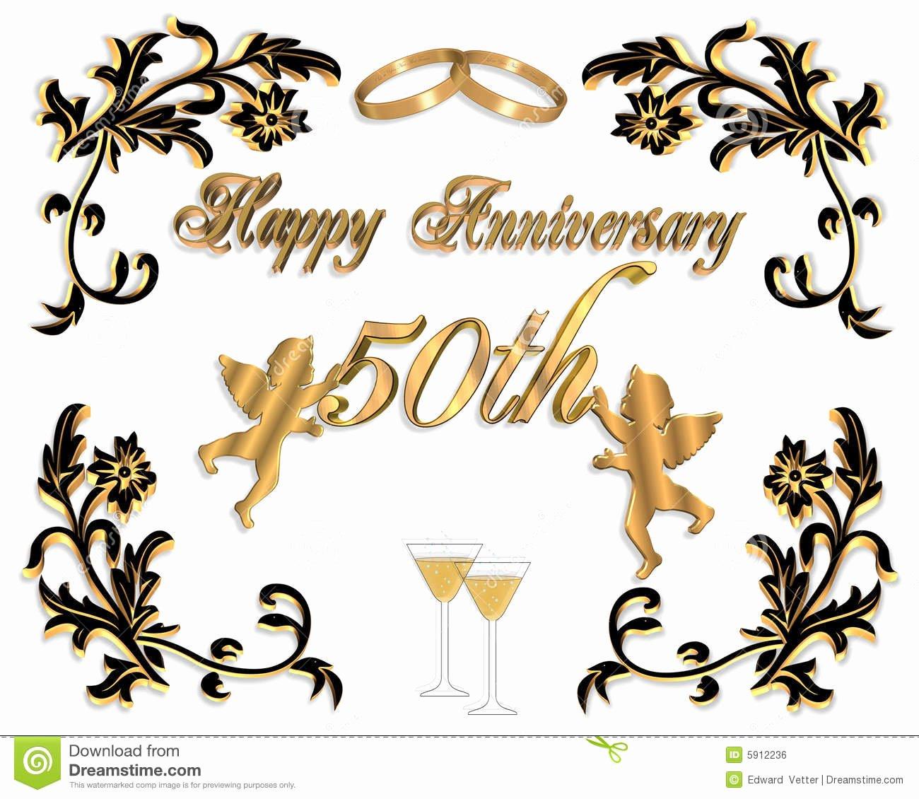 50th Wedding Anniversary Invitation Template Awesome 50th Anniversary Invitation Templates Free