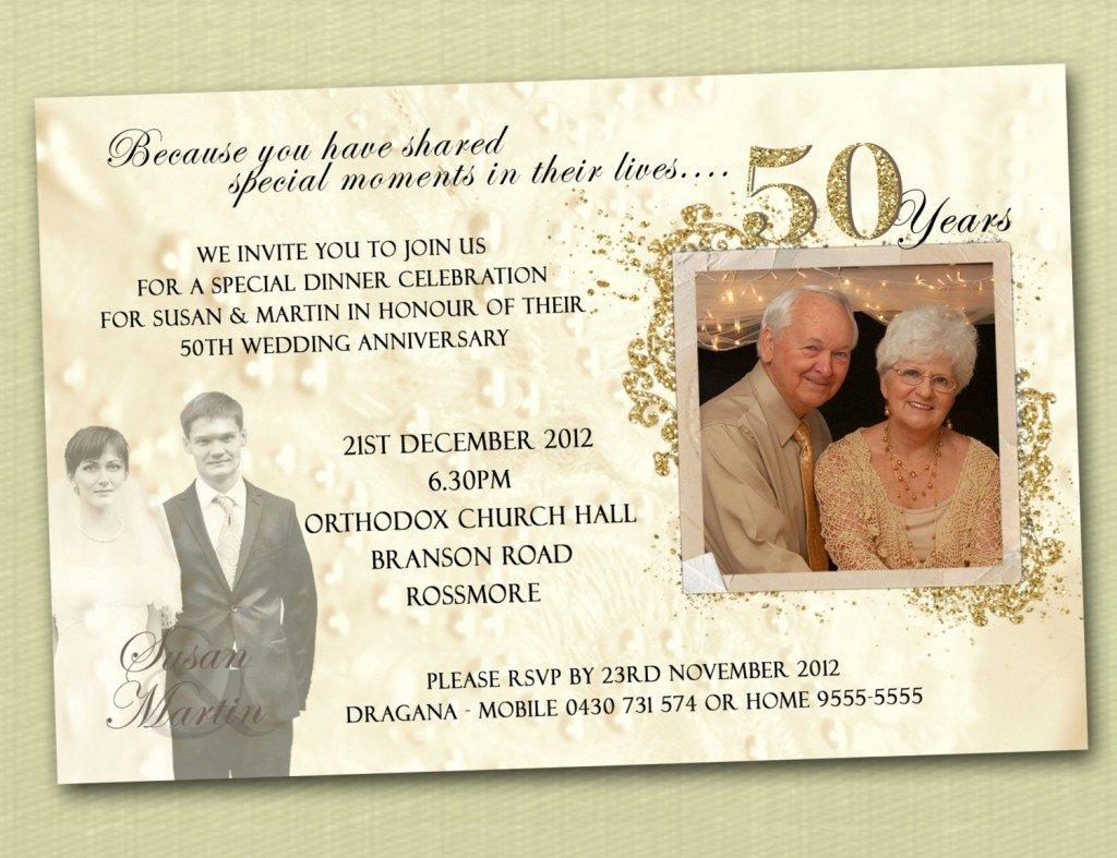 50th Wedding Anniversary Invitation Template Inspirational 50th Wedding Anniversary Invitation Templates Wedding