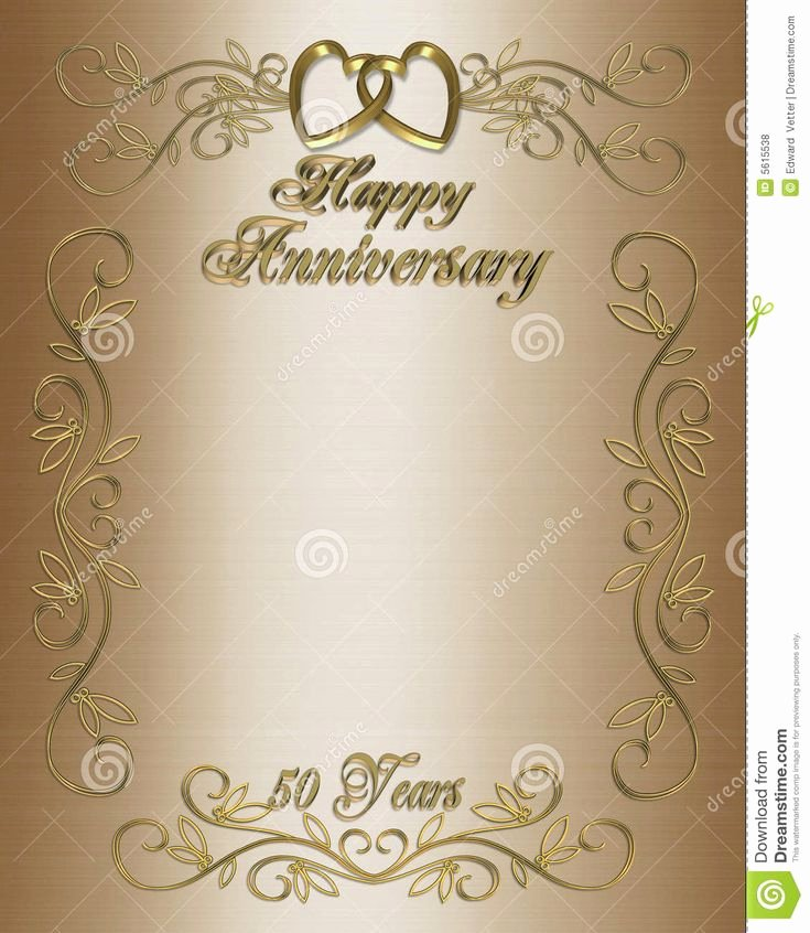 50th Wedding Anniversary Invitation Template Inspirational 50th Wedding Anniversary Layouts