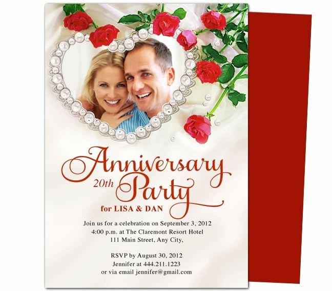 50th Wedding Anniversary Invitation Template Luxury 9 Best Images About 25th & 50th Wedding Anniversary