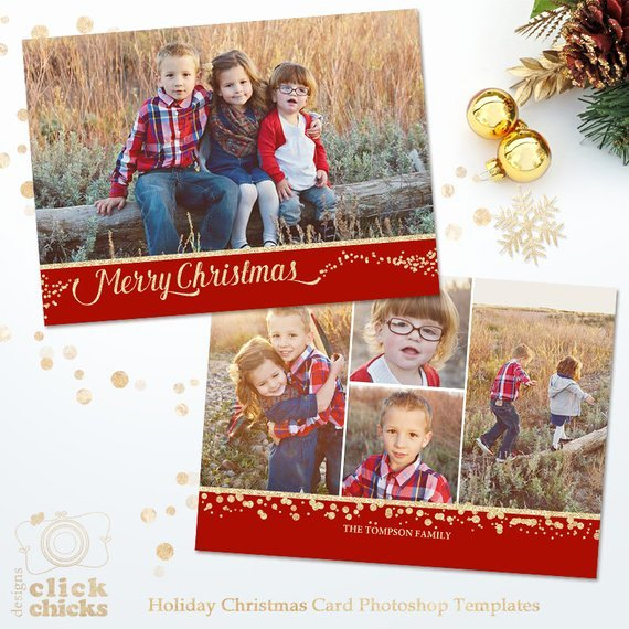 5x7 Postcard Template Photoshop Awesome Items Similar to Holiday Card Template for Graphers