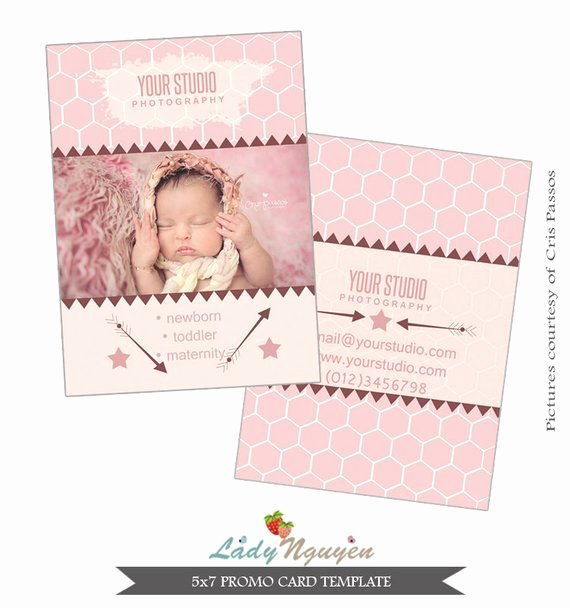 5x7 Postcard Template Photoshop Best Of Instant Download 5x7 Promo Card Shop Template Ca353