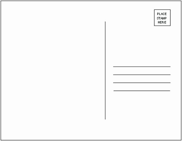 5x7 Postcard Template Photoshop Elegant Usps Postcard Template 5×7 Postage Layout with Specs