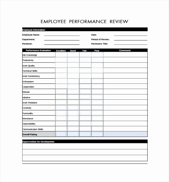 90 Day Performance Review Template Fresh Template Day Improvement Plan Performance Example