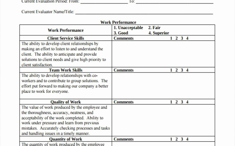90 Day Performance Review Template New Awesome 90 Day Review Template